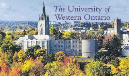 Học bổng Đại học Western, Canada