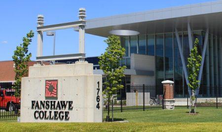 Học tập tại Fanshawe College, Canada