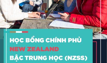 Học bổng chính phủ New Zealand NZSS bậc trung học năm 2020
