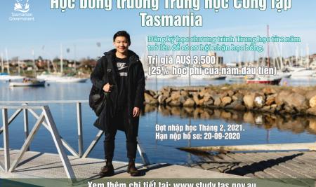 Học bổng chương trình THPT của Chính phủ bang Tasmania, Úc