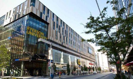Học bổng 2000CAD Chương Trình Năm 1 Đại học Ryerson, Canada